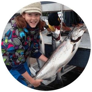 Salmon Fishing Charter Ketchikan, Alaska