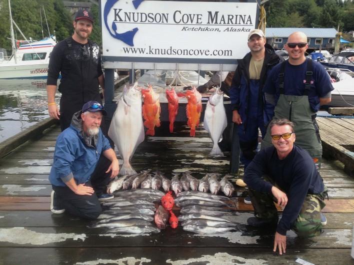 Ketchikan charter fishing trips