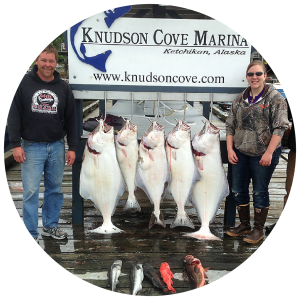 Halibut Fishing Charter Ketchikan, Alaska