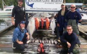 Chartered Salmon Fishing Ketchikan, Alaska