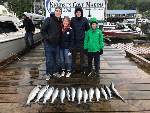 Fishing Charter Knudson Cove Ketchikan, Alaska