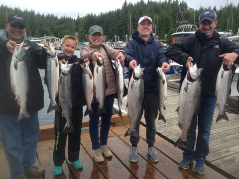 Half Day Fishing Charter Ketchikan, AK