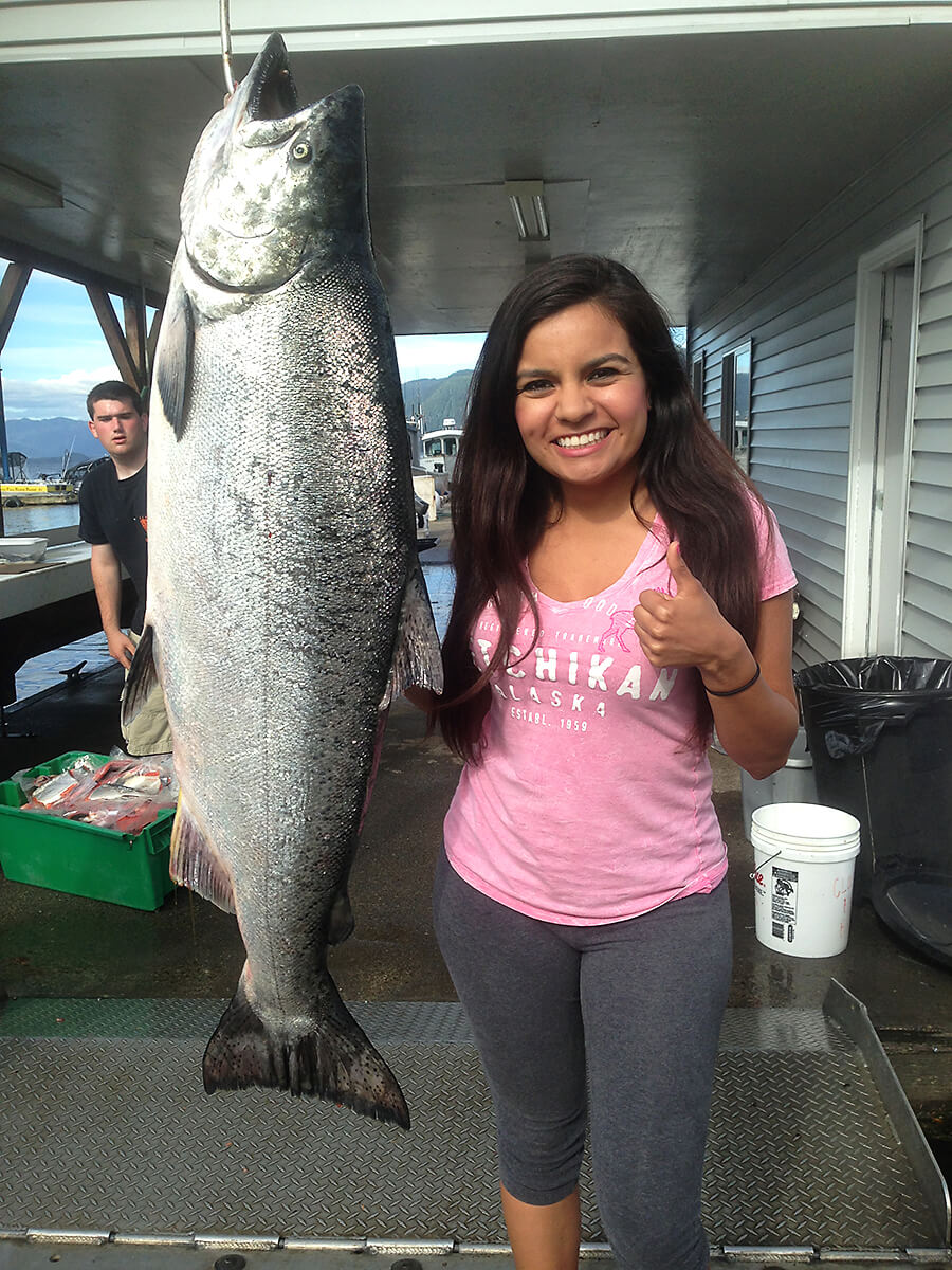 Salmon Fishing Charters out of Ketchikan, AK